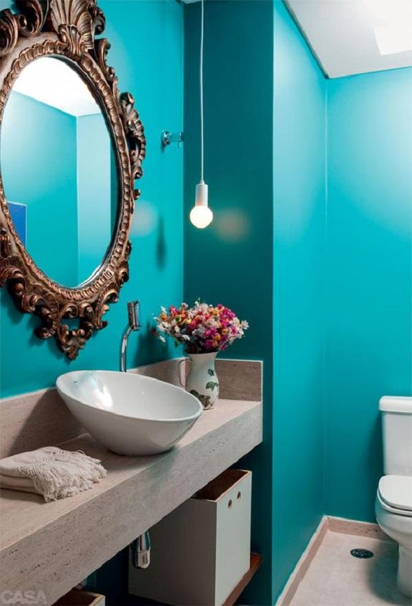 Banheiros Decorados – 15 Ideias Para Você Fazer Igual!-16