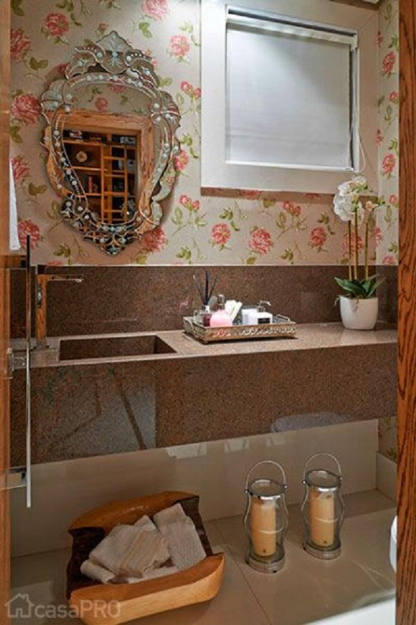 Banheiros Decorados – 15 Ideias Para Você Fazer Igual!-5
