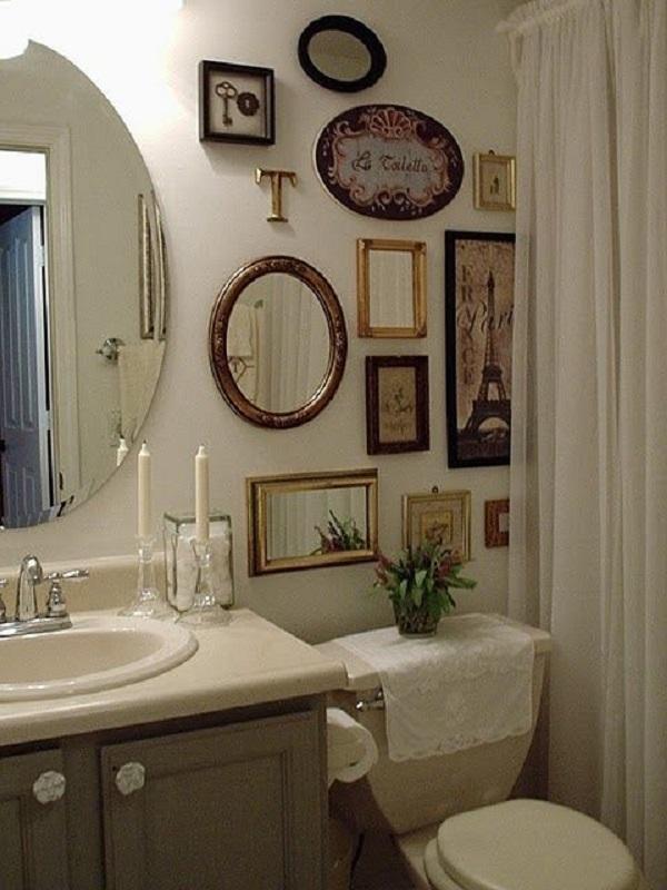 Banheiros Decorados – 15 Ideias Para Você Fazer Igual!-12
