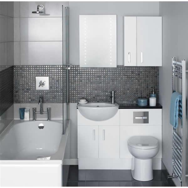 Banheiros Pequenos Decorados – 10 Dicas para Decorar o Seu-2