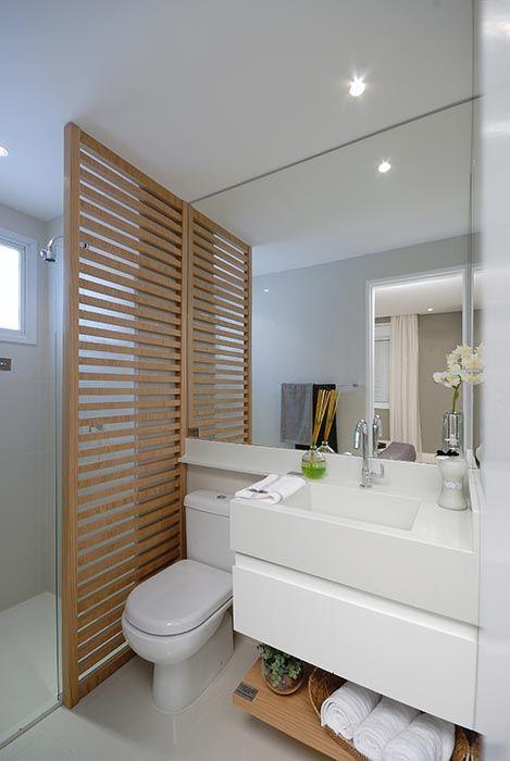 Banheiros Pequenos Decorados – 10 Dicas para Decorar o Seu-11