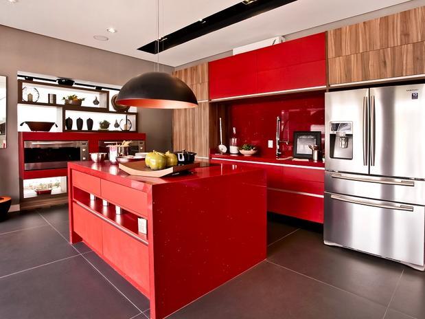 Cozinha Americana – 20 Modelos incríveis para se inspirar-5