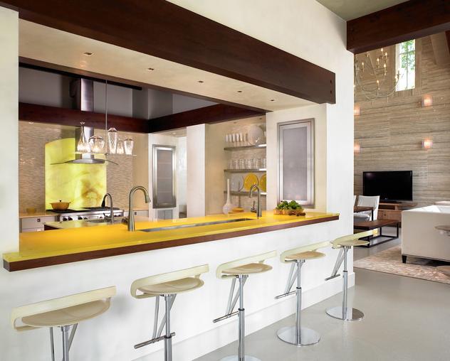 Cozinha Americana – 20 Modelos incríveis para se inspirar-13