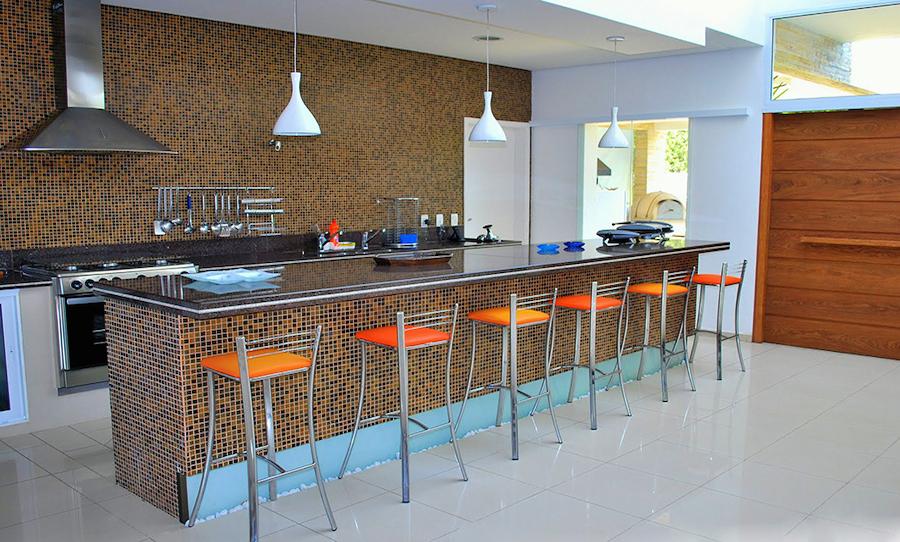 Cozinha Americana – 20 Modelos incríveis para se inspirar-15