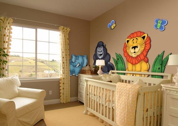 Decoração Para Quarto de Bebê – 26 Ideias Bacanas Para Anotar-13