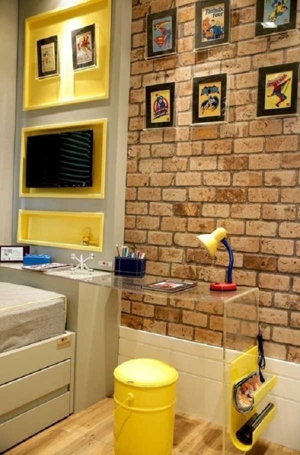 quarto de menino 1Quarto de Menino – Veja 20 ideias e fotos criativas-7