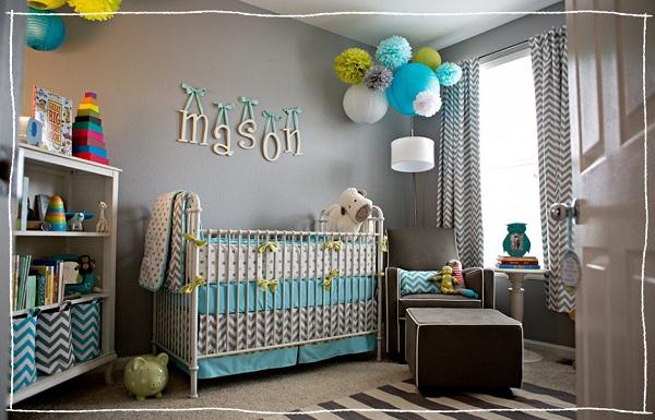 Decoração Para Quarto de Bebê – 26 Ideias Bacanas Para Anotar-18