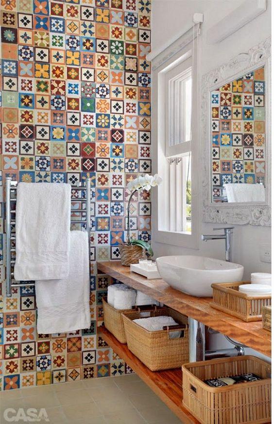 Banheiros Decorados – 19 Ideias Para Você Fazer Igual!