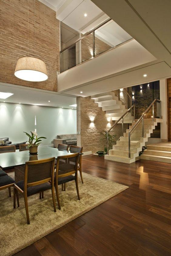 Modelos de casas modernas x ideias para se inspirar for Interior de la casa de madera moderna