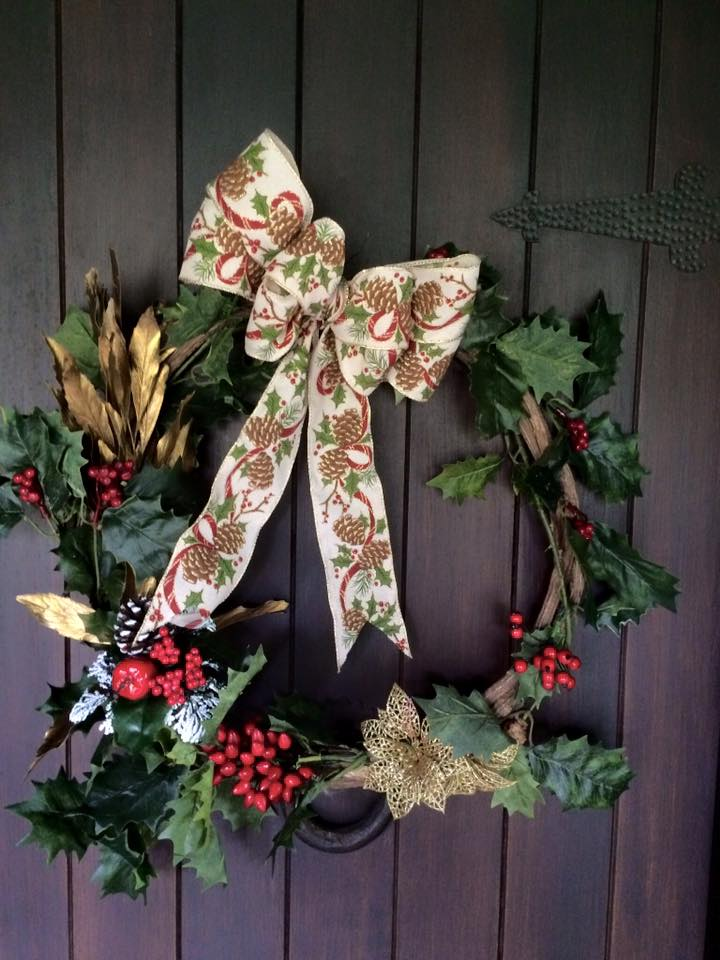 Decoração rústica de natal11