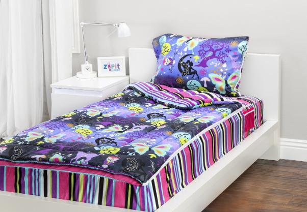 Cobertor com Zíper Para Cama de Solteiro - Cobertor Infantil