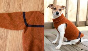 Como fazer roupa para cachorro blusa de frio