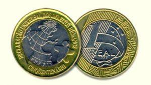 moedas de 1 real valiosas