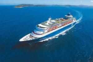 Navio de cruzeiro no Brasil Pullmantur Sovereign