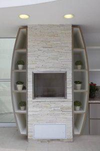 Churrasqueira pré moldada com arquitetura diferenciada