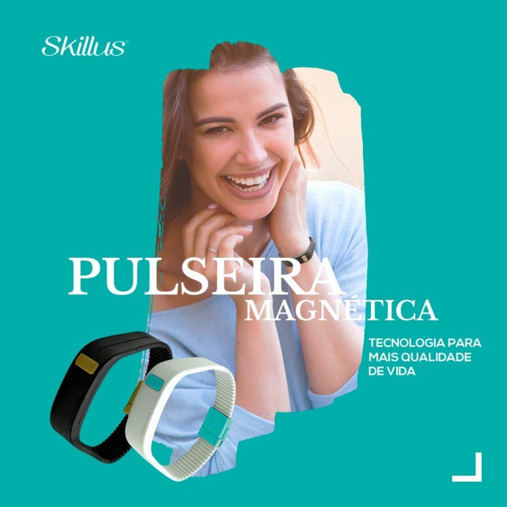 Pulseira Magnética Terapêutica Skillus