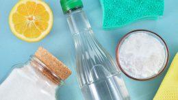 Receitas caseiras para limpeza da casa